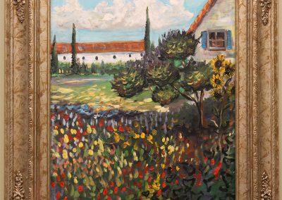 Van Gogh Study by Marianthe Snyder
