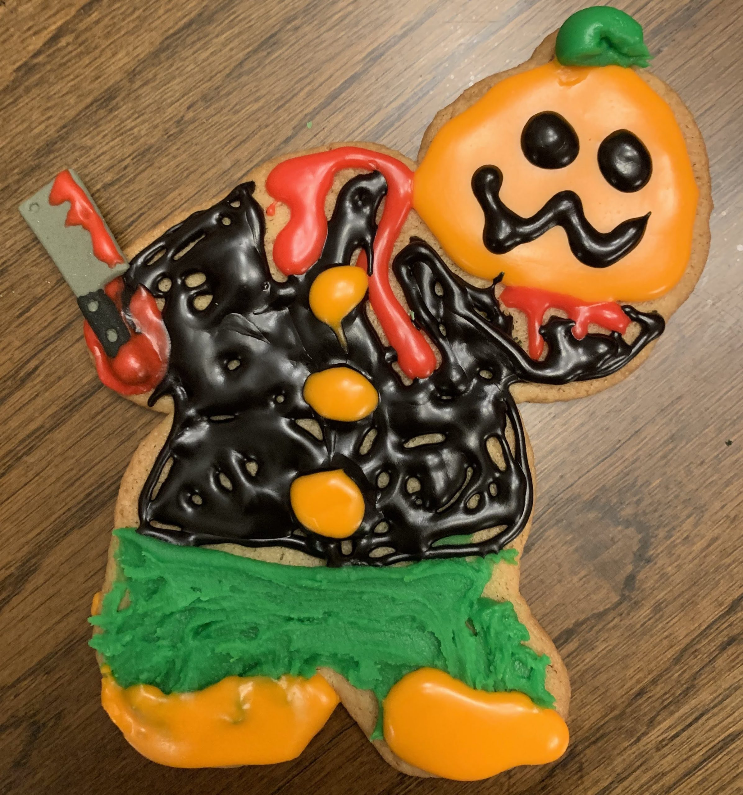 Headless Horseman Cookie