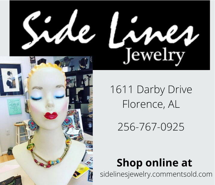 Side Lines Jewelry Ad