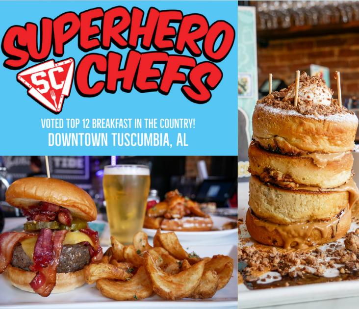 Superhero Chefs Ad