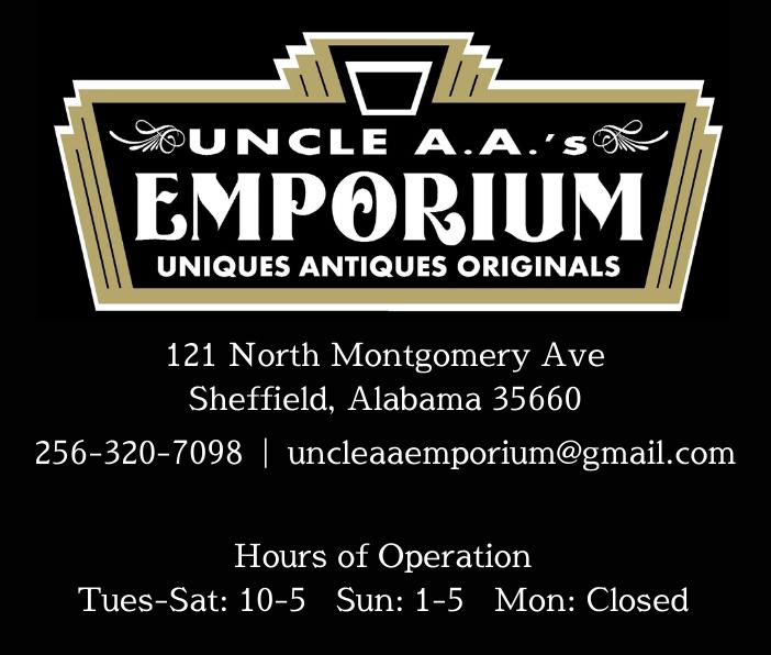 Uncle A.A.'s Emporium Ad