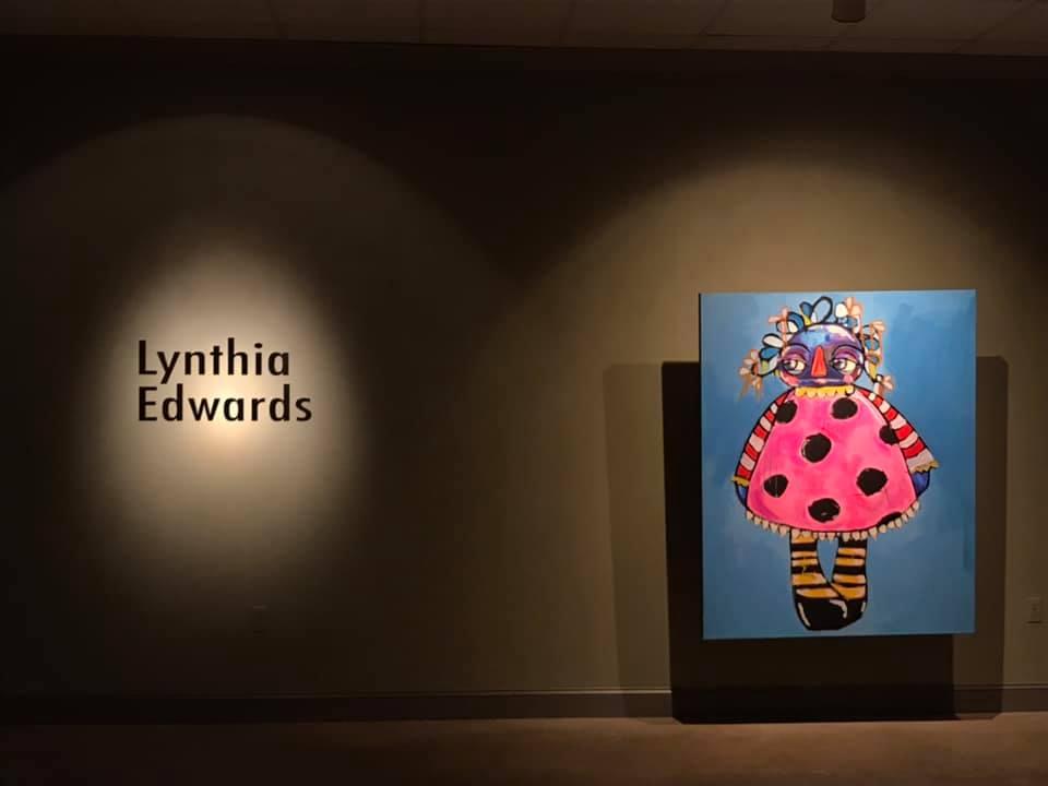 Lynthia Edwards Exhibition at TVMA