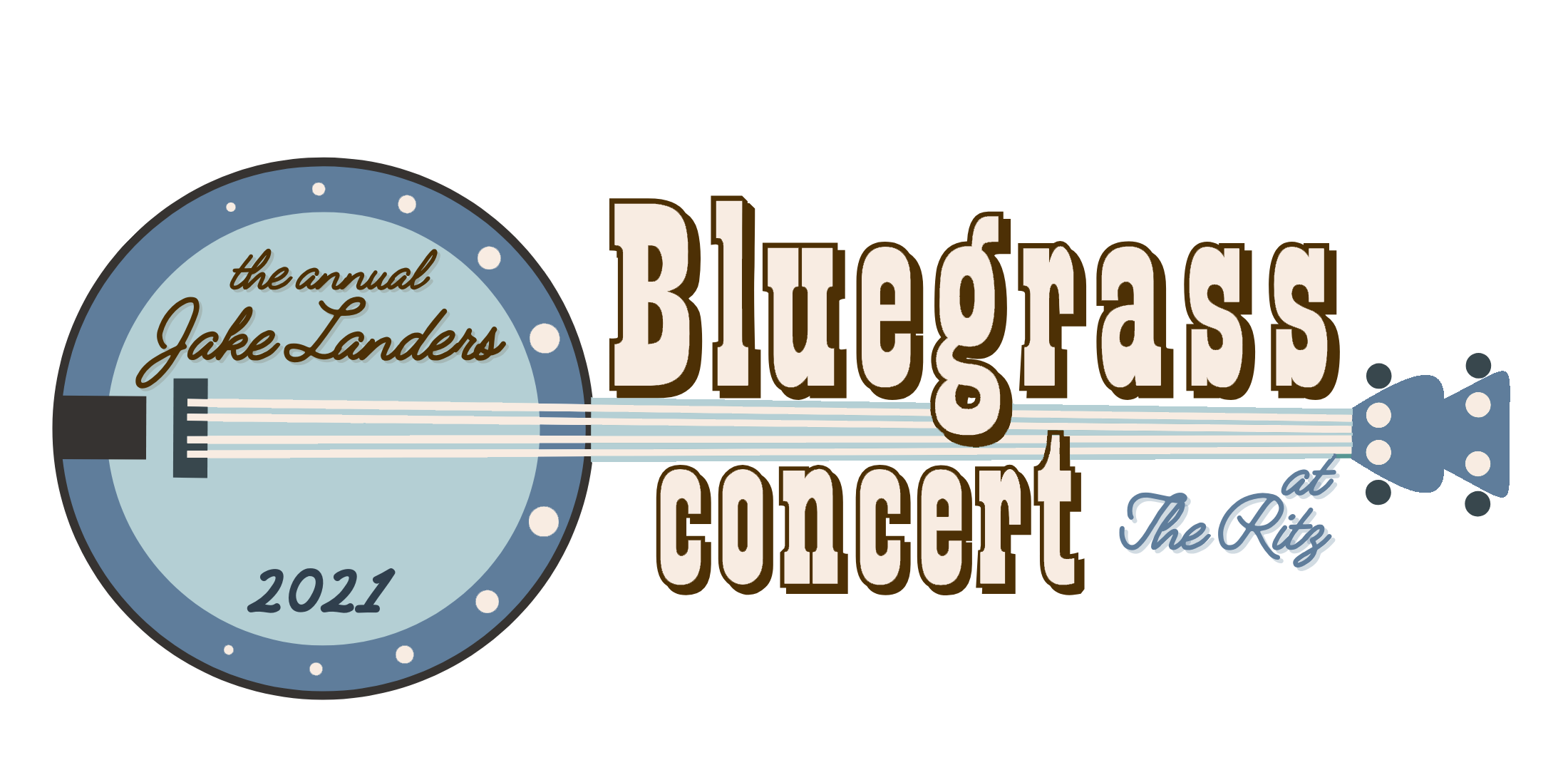 The Annual Jake Landers Bluegrass Concert at The Ritz logo